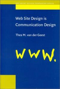 web-site-design-is-communication-design-document-design-companion-series-v-2