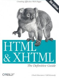html-xhtml-the-definitive-guide-5th-edition