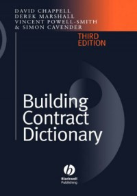 building-contract-dictionary