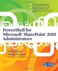 powershell-for-microsoft-sharepoint-2010-administrators