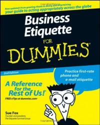 business-etiquette-for-dummies