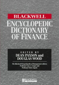 the-blackwell-encyclopedic-dictionary-of-finance-blackwell-encyclopedia-of-management