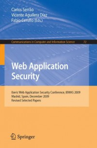 web-application-security-iberic-web-application-security-conference-ibwas-2009