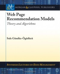 web-page-recommendation-models-theory-and-algorithms-synthesis-lectures-on-data-management