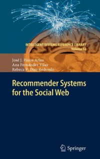 recommender-systems-for-the-social-web-intelligent-systems-reference-library-vol-32