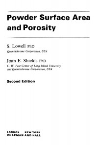powder-surface-area-and-porosity-environmental-resource-management-series