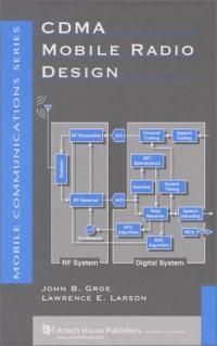 cdma-mobile-radio-design-artech-house-telecommunications-library