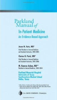 parkland-manual-of-in-patient-medicine-an-evidence-based-guide