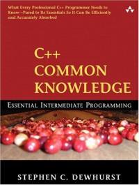 c-common-knowledge-essential-intermediate-programming
