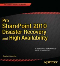 pro-sharepoint-2010-disaster-recovery-and-high-availability