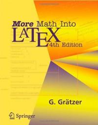 more-math-into-latex-4th-edition