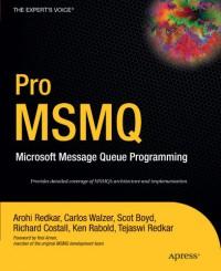 pro-msmq-microsoft-message-queue-programming