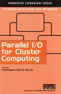 parallel-i-o-for-cluster-computing-innovative-technology-series