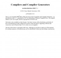 compliers-and-compiler-generators-an-introduction-with-c